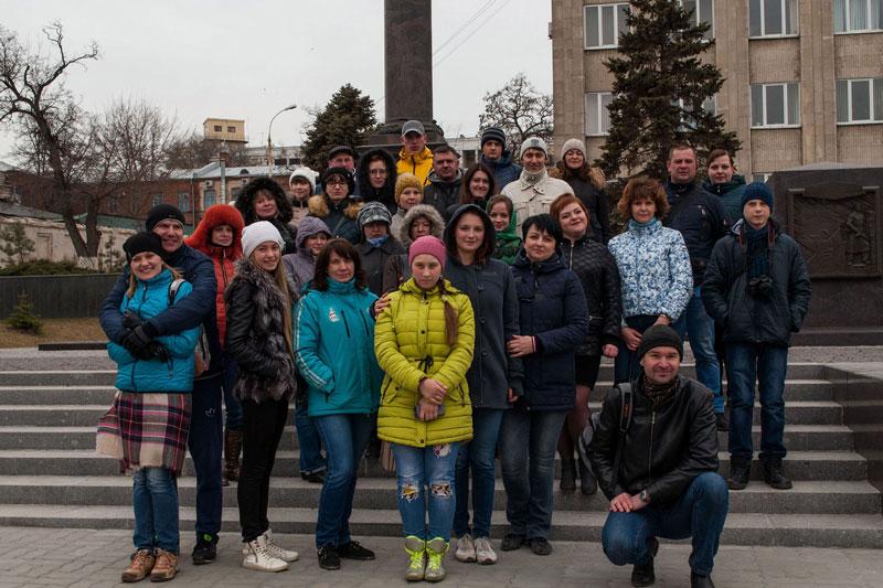 Стела город воинской славы в Таганроге