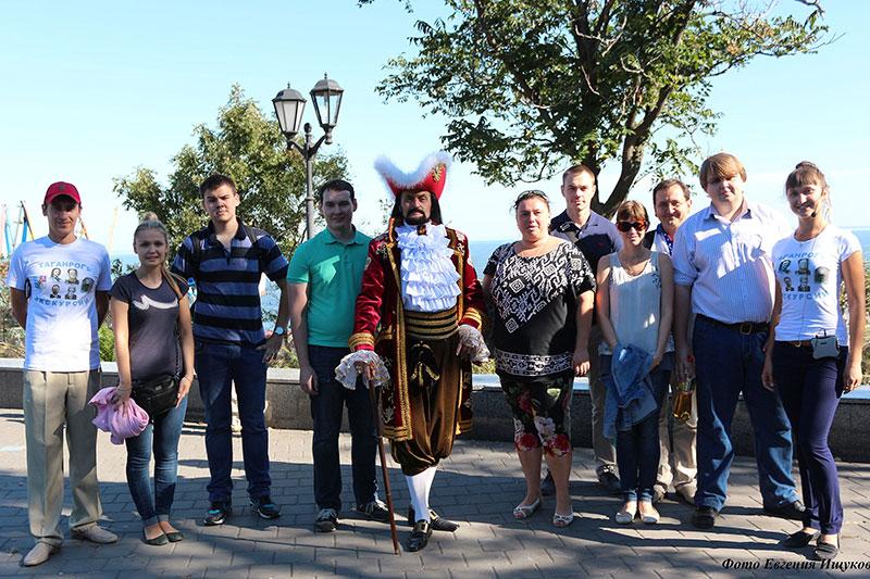 Памятник основателю города Таганрог Петру 1